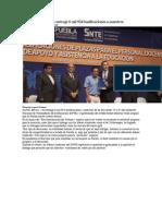 01-05-2013 Periódico Digital - Rafael Moreno Valle entregó 6 mil 924 basificaciones a maestros