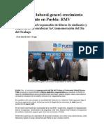 30-04-2013 Puebla noticias - Estabilidad laboral generó crecimiento sin precedente en Puebla