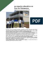 02-05-2013 Sexenio - RMV entrega espacios educativos en Atlixco e Izúcar de Matamoros
