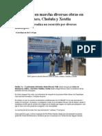02-05-2013 Puebla noticias - RMV pone en marcha diversas obras en Izúcar