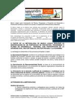 v1 Marco Logico Proyectos de Desarrollo Turisico y Cultural
