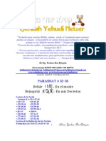 Parashat Behar -Bejuqotai # 32-33 Adul 6013