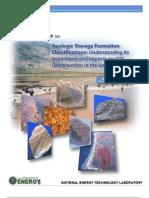 Geologic Storage