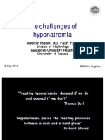The Challenges of Hyponatremia