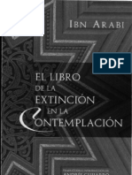IBN ARABI-El libro de la extinción de la contemplación