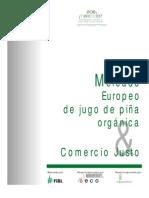 Mercado Europeo_jugo_pina Organica & Comercio Justo