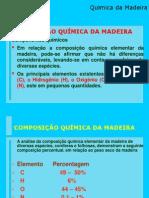 Composicao Quimica Madeira