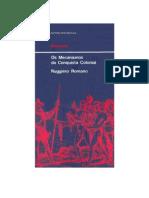 História - Ruggiero Romano - Os Mecanismos da Conquista Colonial