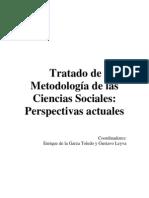De La Garza Leyva Tratado de Metodologa de Las Ciencias Sociales Libro Completo