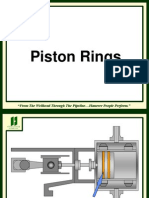 Piston Rings and Rider Bands