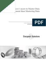 Master Data Management Strategy, Andrew Bonanni