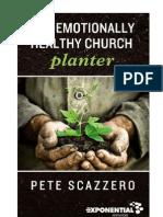 The Emotionally Healthy Church Planter - Pete Scazzero