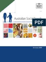 Social Trends in Australia Australian Bureau of Stsatistics, Sept 09
