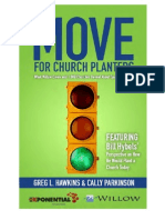 Move for Church Planters by Cally Parkinson and Greg Hawkins