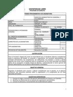 Derecho Administrativo General y Colombiano 07-0