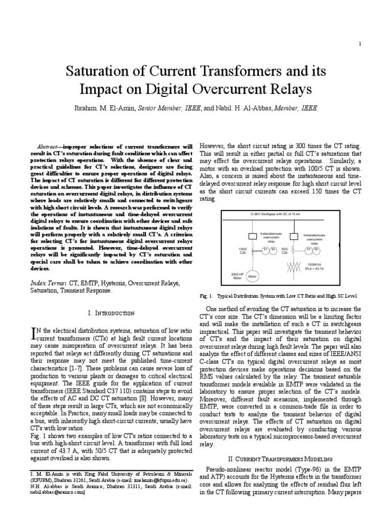 Saturacion de tcs y su impacto en reles digitales transformer saturacion de tcs y su impacto en reles digitales transformer relay publicscrutiny Images
