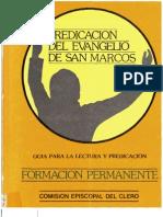 Rodriguez Carmona, Antonio - Predicacion Del Evangelio de San Marcos