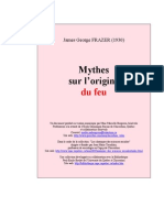 ANTHROPOLOGIE_Frazer, James - Mythes Sur L'Origine Du Feu