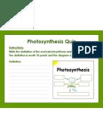 photosynthesis assessment  jm766portfolio april2013