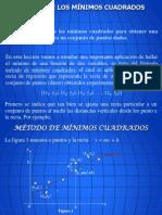 MÉTODOS DE MINIMOS CUADRADOS