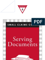 Serving documents rules
