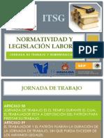 Normatividad y legislación laboral