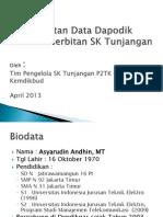Presentasi Dapodik Dan Tunjangan-1