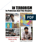 INDIAN TERRORISM IN PAKISTAN The Story Of Two Spies And One Saboteur
