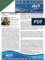 Boletin Febrero 2013 - El Observador JCI Asunción