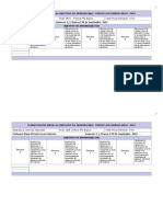 PLANIFICACION sinóptica Anual Ciencias Octavo Año Básico 2013