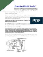 Sistem Kerja Pengapian CDI