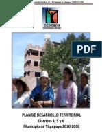 Plan de Desarrollo Territorial m2011