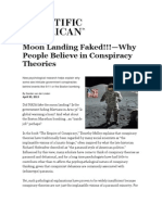 Moon Landing Faked