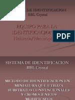 Sistema de Identificacion Bbl Crystal