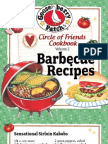 25 Barbecue Recipes by Gooseberry Patch