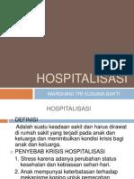 Hospital is as i