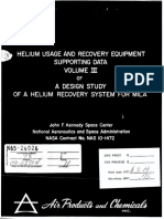 DESIGN STUDY OF HE RECOVERY SYSTEM