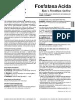 8483 Fosfatasa Acida Total y Prostatica Cinetica Sp