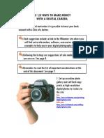 Digital Camera 33 Third Ways