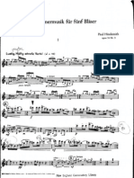 Hindemith quintette flute