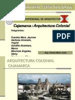 ARQUITECTURA CAJAMANCA