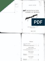 Hume David - Investigacion Sobre Moral