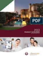 2013 SmartBUS Home Automation Product Catalogue English v.1.0