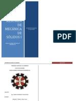 RESUMEN DE MECÁNICA DE SÓLIDOS I