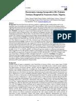 Non-Salmonella Bacteremia Among Seropositive Hiv Patients