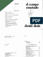DENIS, Daniel, El cuerpo enseñado (2)