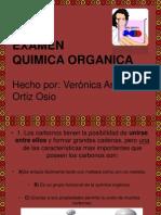 EXAMEN QUIMICA ORGANICA