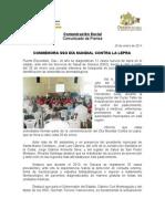 29/01/11 Germán Tenorio Vasconcelos Conmemora SSO Dia Mundial Contra La Lepra