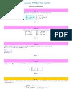 Ejercicios de Matematicas i