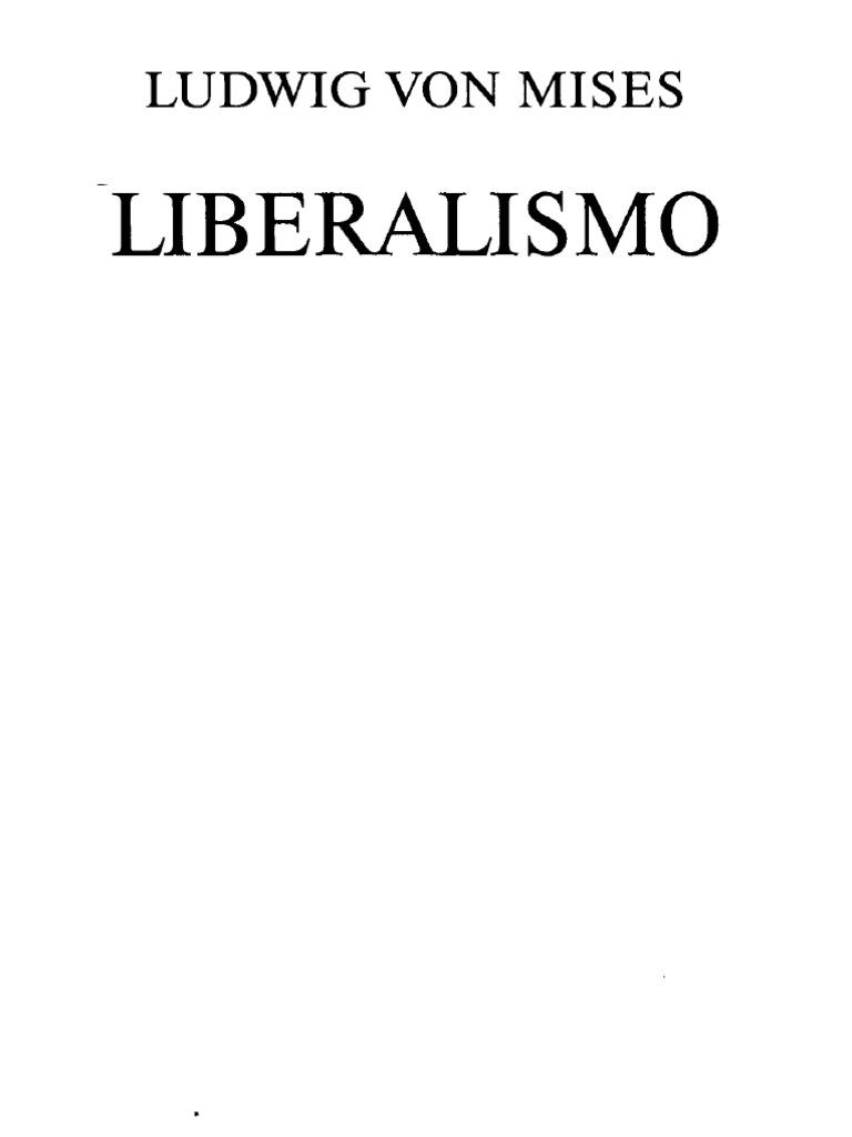 Liberalismo pdf